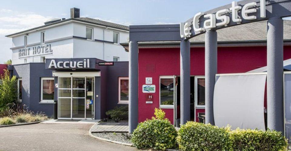 BRIT HOTEL RENNES LE CASTEL SÉMINAIRE ET RESTAURANT