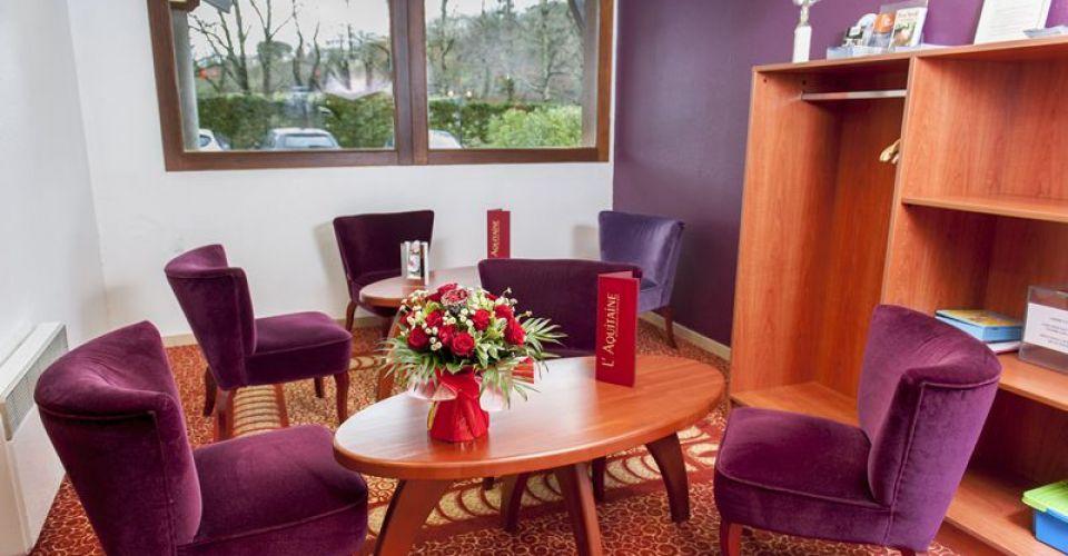 réception du brit hotel d'agen-aquitaine
