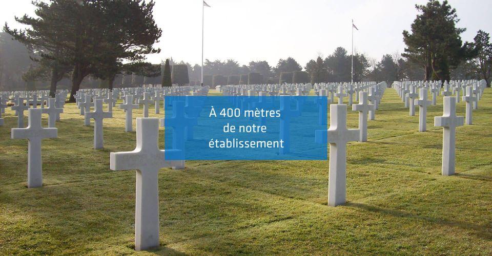 Memorial de Caen, proche de l'hôtel