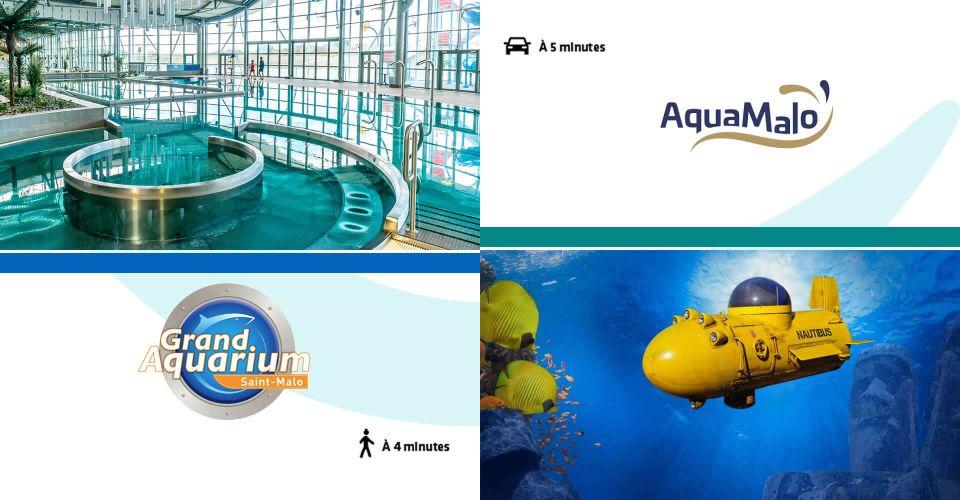 Partenaires Aquarium et Aquamalo à Saint-Malo