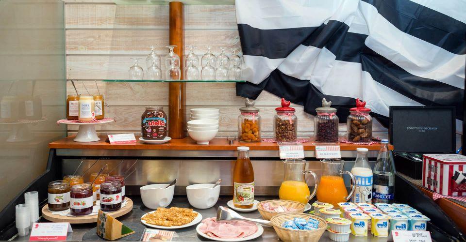 Le petit-déjeuner de l'hôtel de Saint-Malo - Le Transat