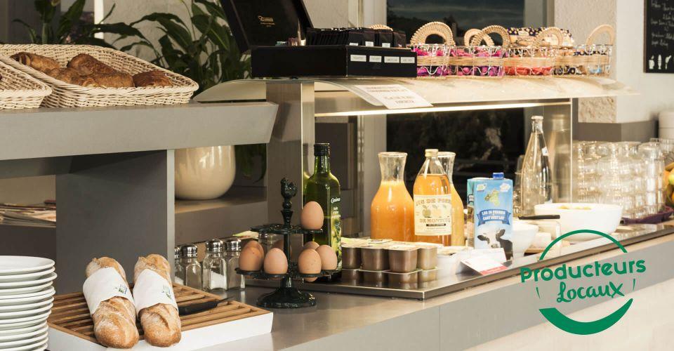 Les producteurs locaux au petit-déj de Cahors
