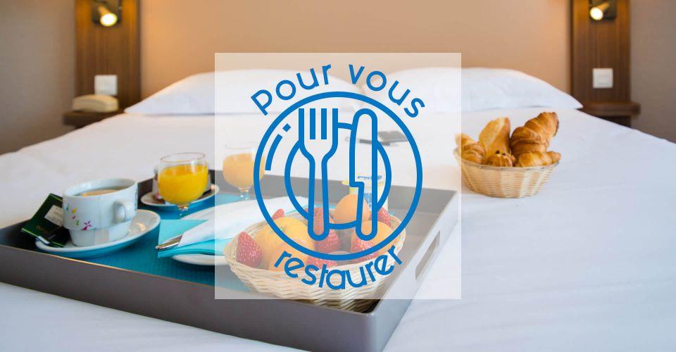La restauration disponible à l'hôtel de Saint-Malo