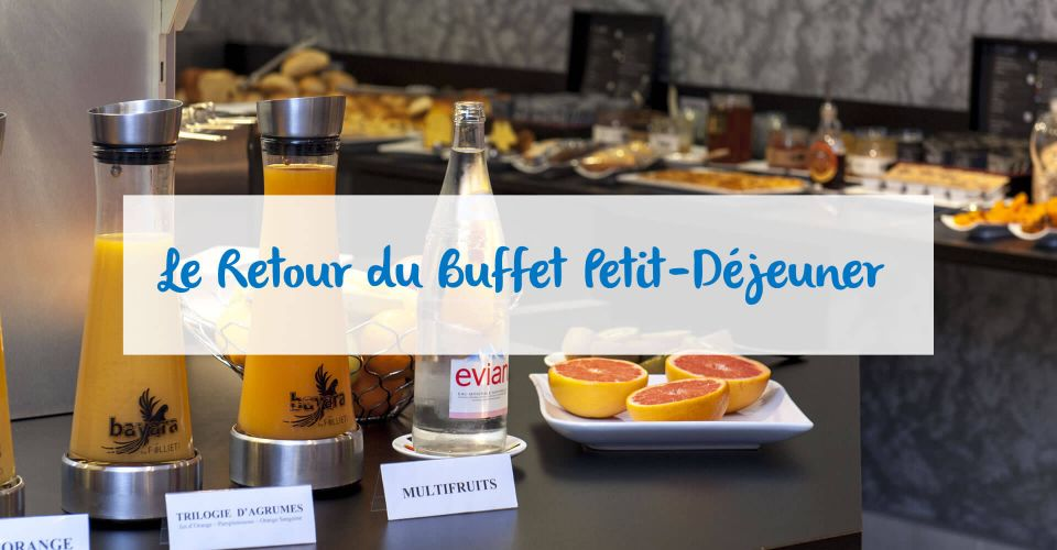 Reopening of the Belfort breakfast buffet