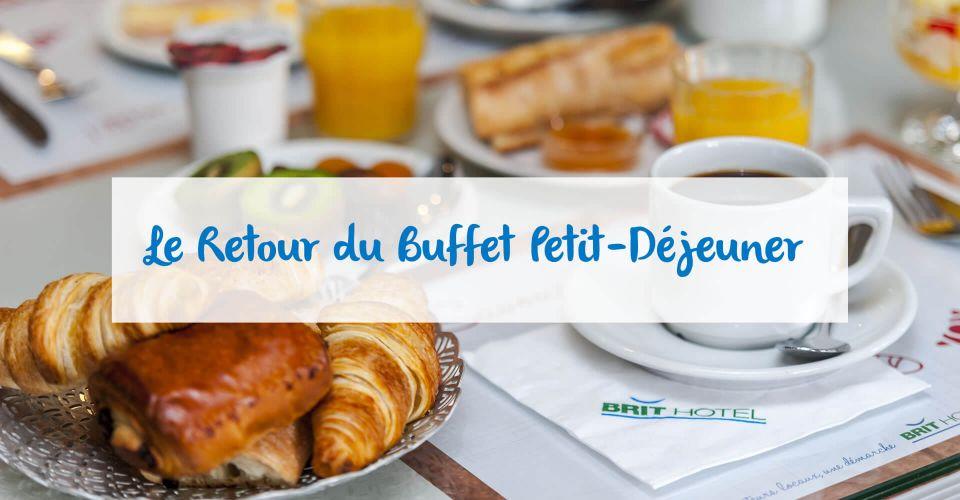 Le buffet peit-déjeuner de Cahors est rouvert