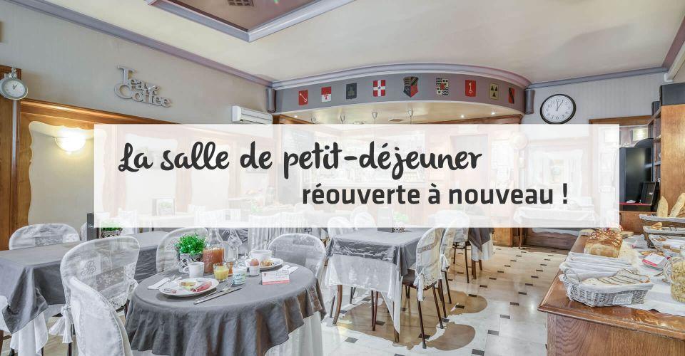 The breakfast room in Montbéliard