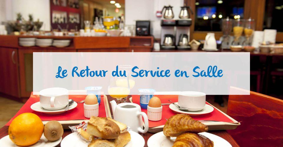 Le service en salle au restaurant d'Agen