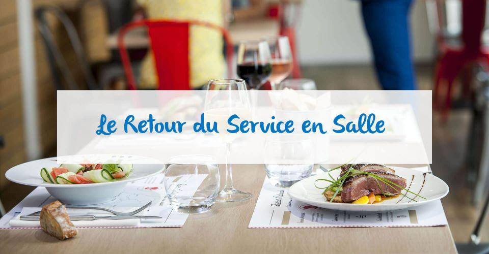 Le service en salle au restaurant de Colomiers