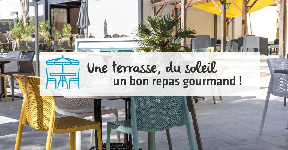 réouverture de la terrasse au restaurant d'Angers