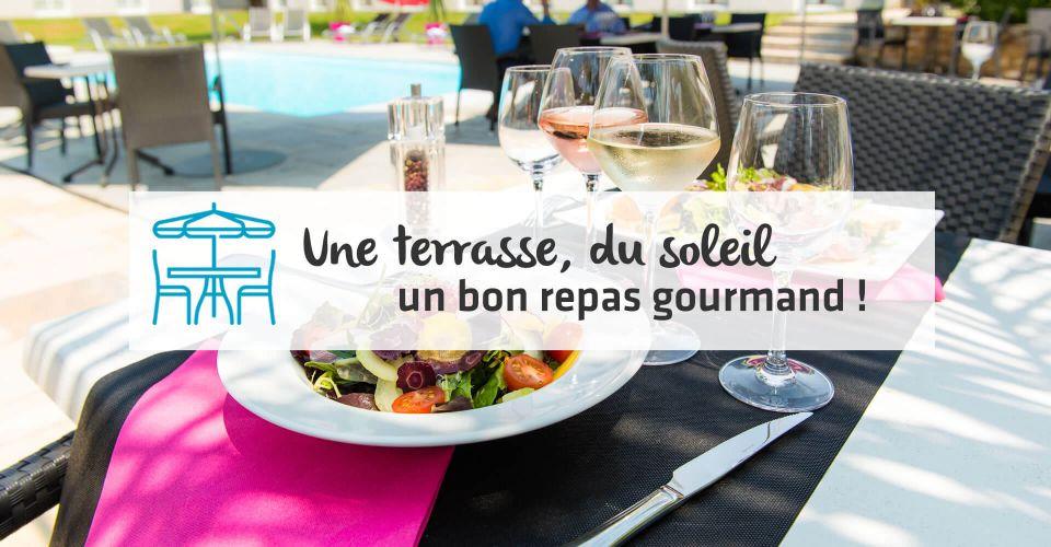 réouverture de la terrasse au restaurant de Nantes Vigneux