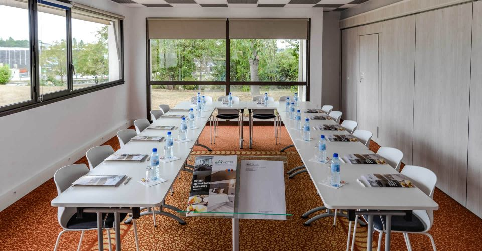 Seminar room at the Brit Hotel in Cesson-Sévigné