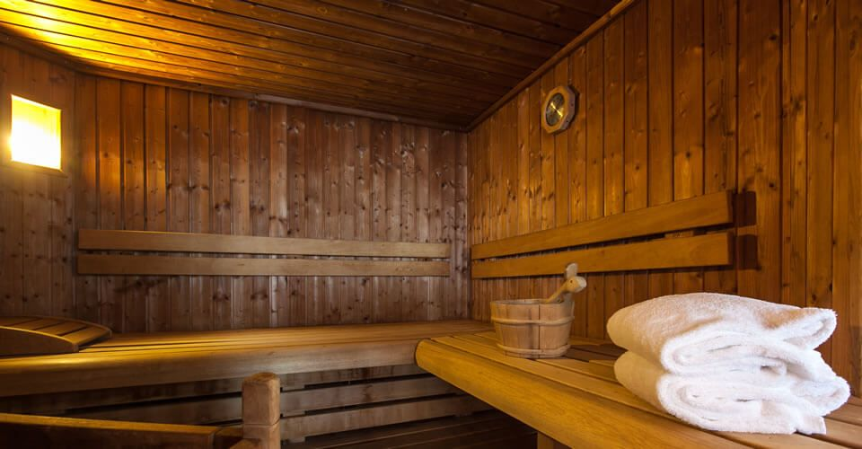 The sauna of the Hotel BRISTOL in Montbéliard