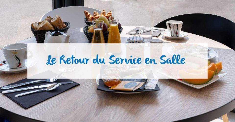 Solution de restauration à l'hôtel d'Avignon