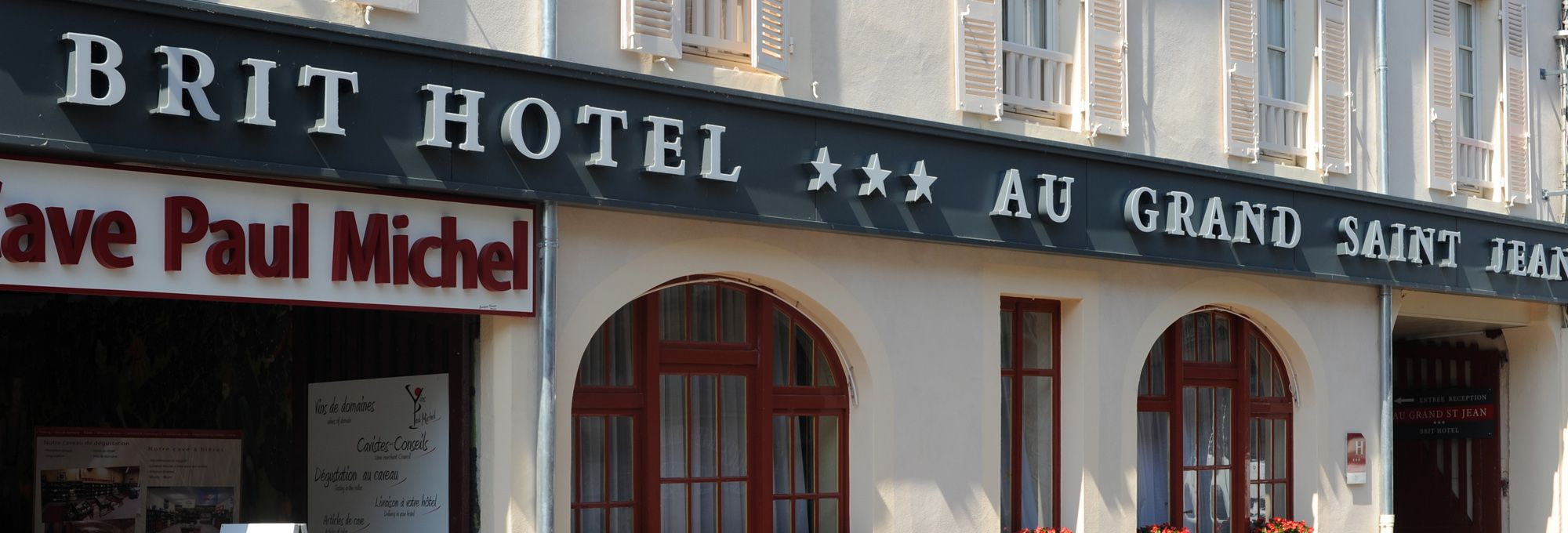 Brit Hotel Au Grand Saint-Jean - Beaune