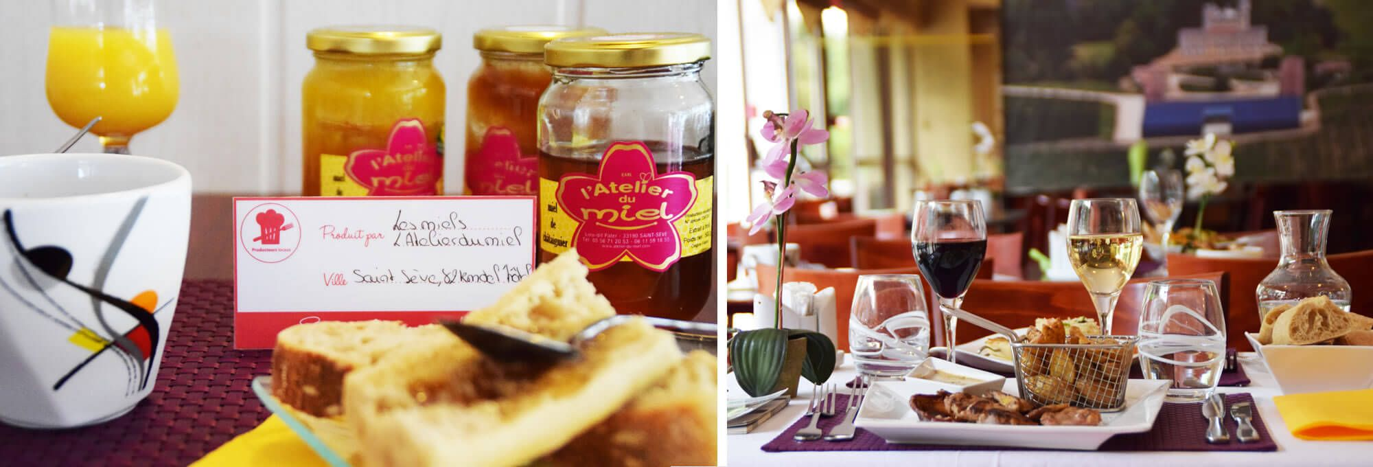 Découvrez les services restaurant et petit-déjeuner de l'hôtel de Bordeaux Aéroport