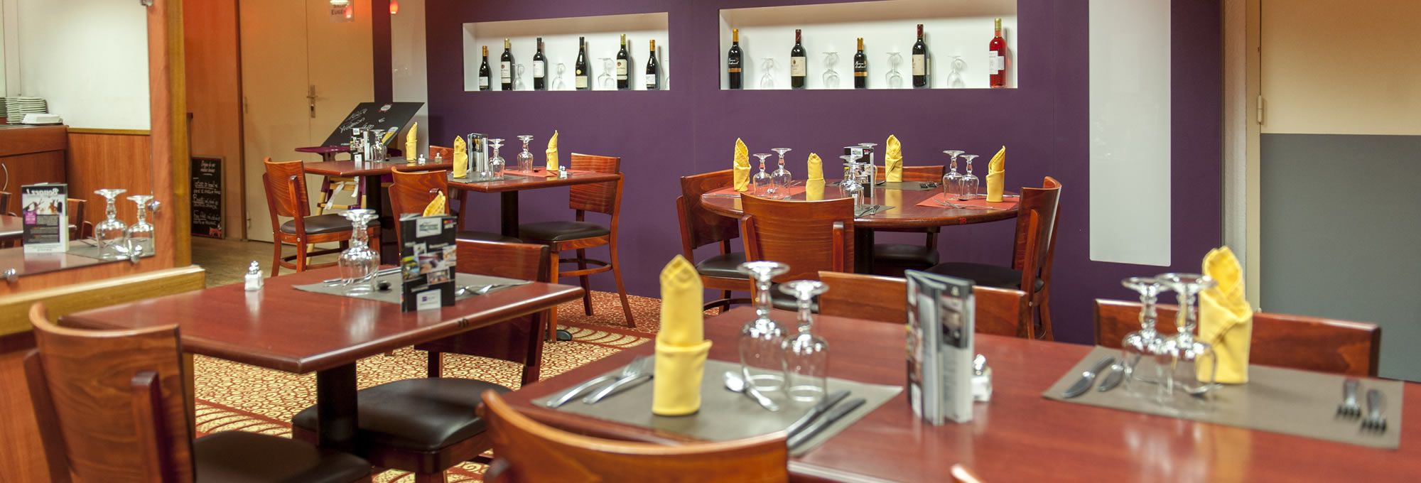 Our restaurant with local flavours