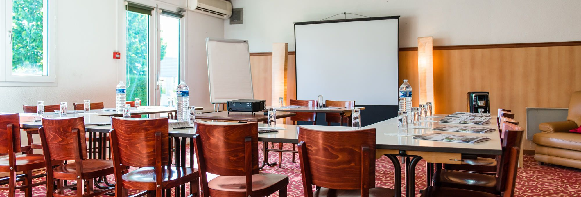 Our 2 seminar rooms