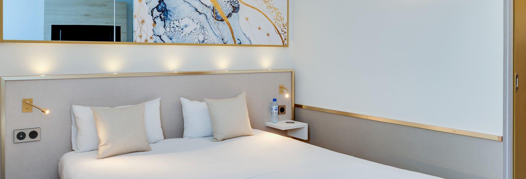 Chambre de l'hôtel brit hotel orléans