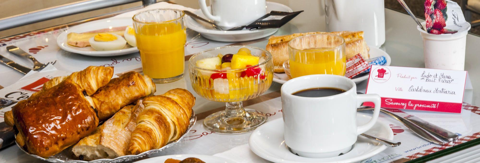 Notre petit-déjeuner local