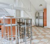 Le coin cuisine de l'appartement