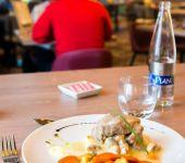 Une assiette au restaurant de Brest