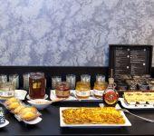 Salty and sweet breakfast at the Hotel de Belfort