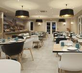 La salle du restaurant Le Calendal à Avignon