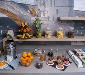 Le petit déjeuner buffet d'Avignon