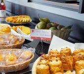les viennoiseries du buffet de petit-déjeuner