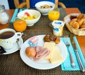 Un petit-déjeuner déjà servi à l'hôtel de saint-malo