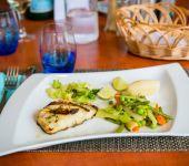 Le poisson grillé du jour au restaurant de Saint-Malo
