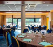La salle du restaurant Le Transat à Saint-Malo