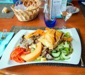 La salade typique de Saint-Malo en Bretagne