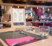 La table au restaurant Le Kerhuon