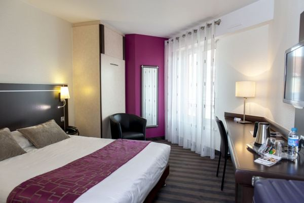 Double room at the Brit Hotel Belfort Centre