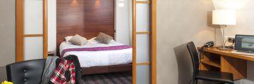 Une de nos suites à l'hôtel de Belfort