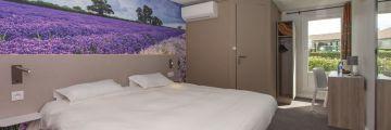 Chambre double à l'hôtel d'Avignon