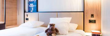 Chambre à deux lits pour enfants