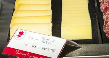 Le fromage de la ferme de Prouzic