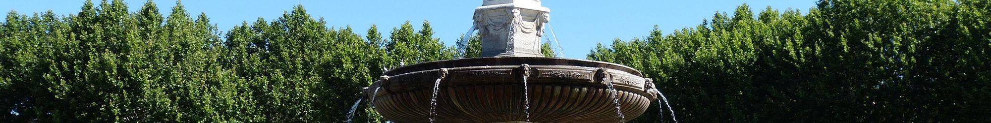 Fontaine d'Aix en Provence