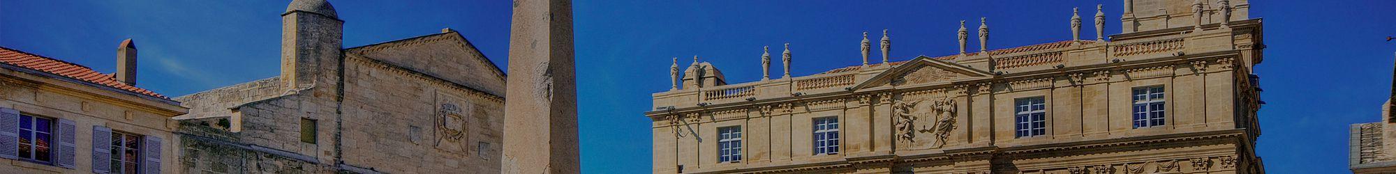 Place République à Arles