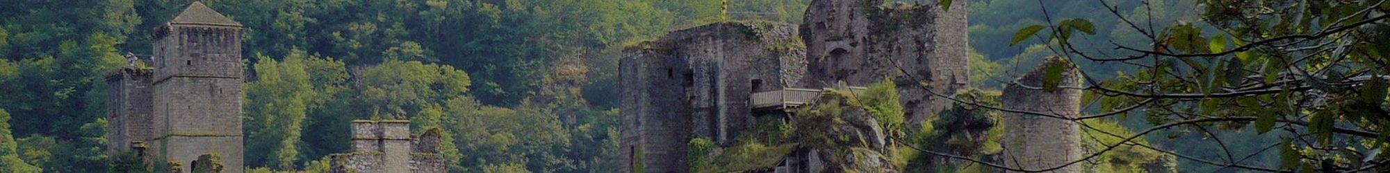 Ruines près de Brive