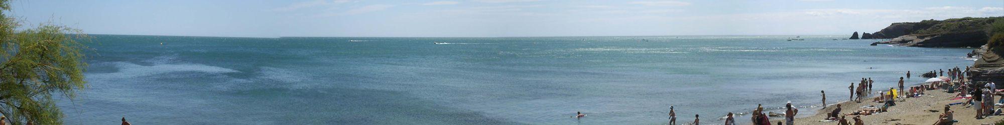 Front de mer au Cap d'Agde