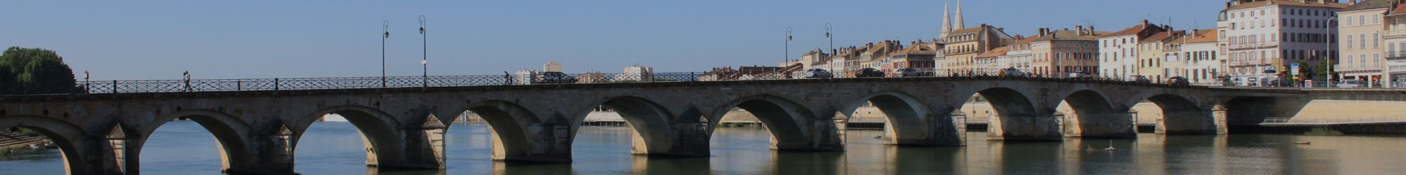 Pont Saint-Laurent à Mâcon