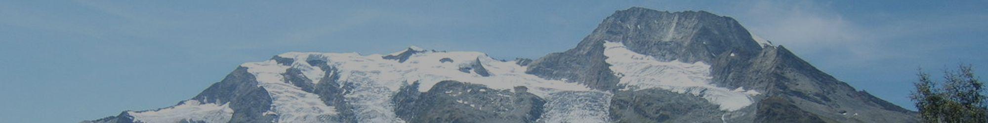 Paysage de montagne en savoie