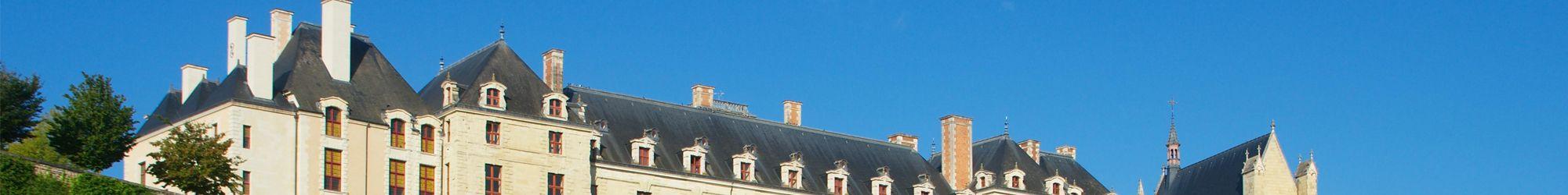 Le château des ducs de La Trémoille à Thouars