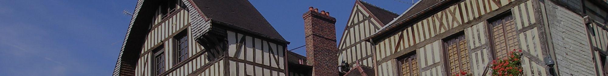 Maisons à pan de bois à Troyes