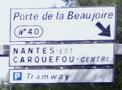 Acc der facilement l h tel brit amandine de nantes - Porte de la beaujoire nantes ...