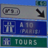 Exit to Tours