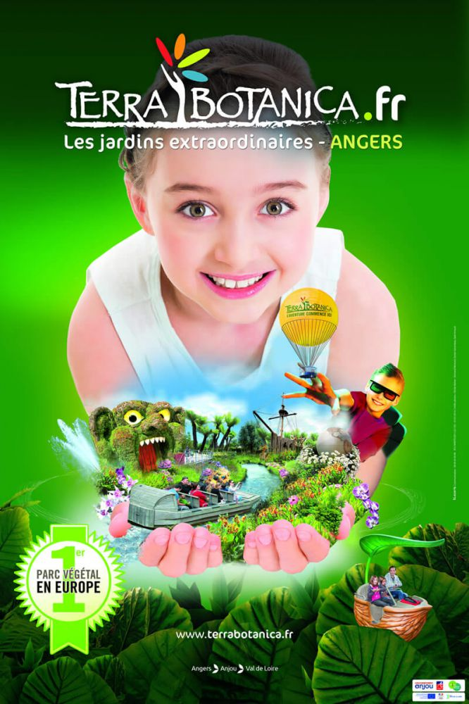 Poster of Terra Botanica in Angers